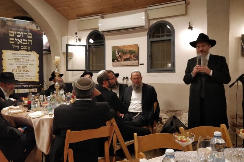 חגיגת 'שבע ברכות' מרכזית של וייסברג-רודרמן בשילה הקדומה