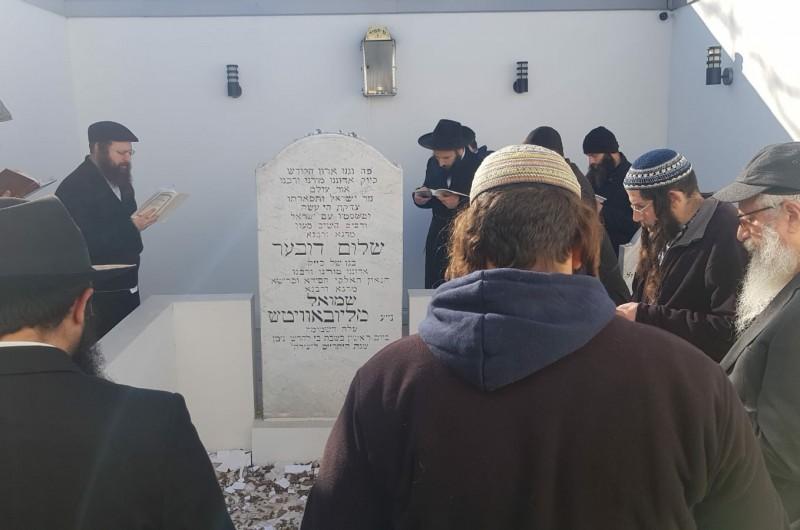 הרב יצחק גינזבורג התוועד עם קבוצת הישראלים ברוסטוב