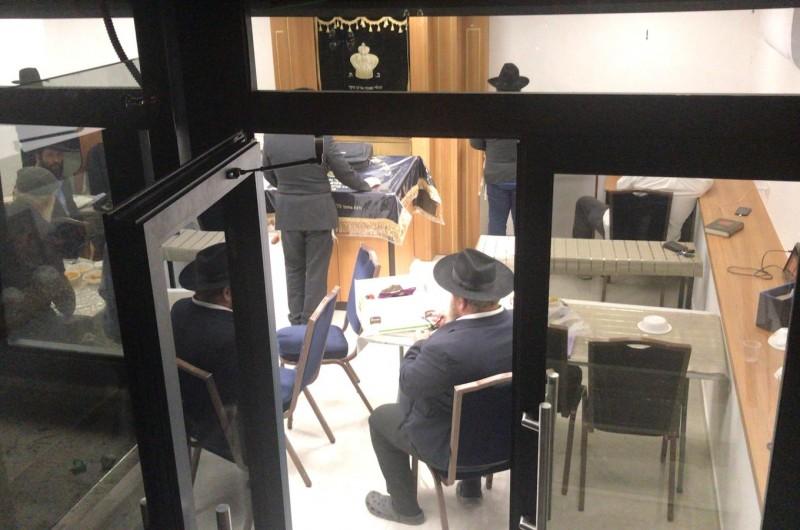 בית הכנסת 'בערקע שול' חודש בכפר חב