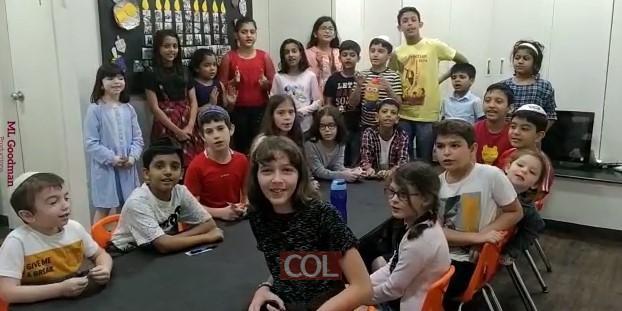 צפו: ילדי בית הספר Sunday School מבית חב