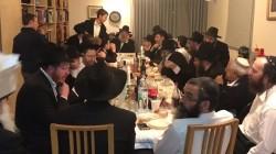 המשפיע הרב מענדל דערען מתוועד לרגל ט'-י' כסלו בקהילת חב