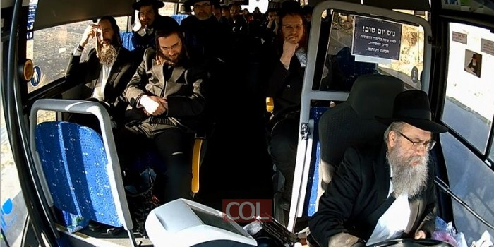 התוועדות חסידית באוטובוס: הנהג החב
