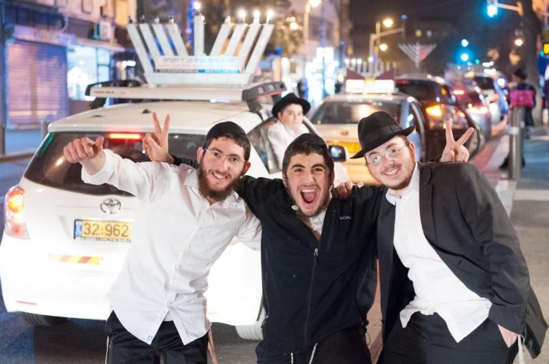 בפעם השביעית ברציפות: שיירת האור ברחובות ירושלים