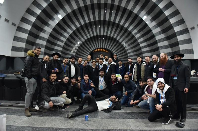 כך נפתח ה'מסע אל התניא' של 130 הסטודנטים הישראלים