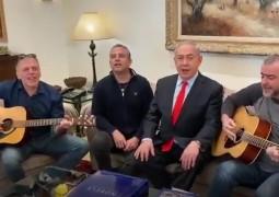 שיר לשבת: ראש הממשלה נתניהו השתתף בשירת