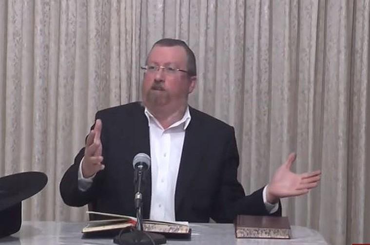 הרבנית הכריזה: