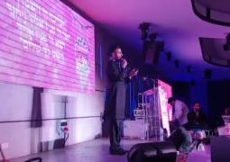צפו: הזמר שמחה פרידמן בביצוע מיוחד ל'ברכת כהנים' בדינר השנתי של 'שפרה ופועה' לוד, הנערך באולמי 'לפאייט' • וידאו