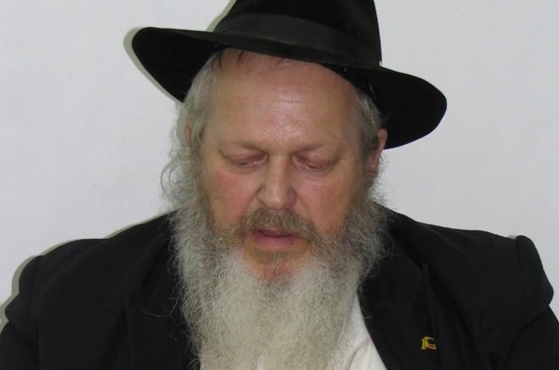 צפת: נפטר ר' אליעזר שמעון בן שמריהו צבי צינאמון ז