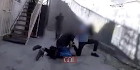 כך עצרו מסתערבים שלושה מחבלים שיידו אבנים בירושלים I צפו (צילום: דוברות המשטרה)