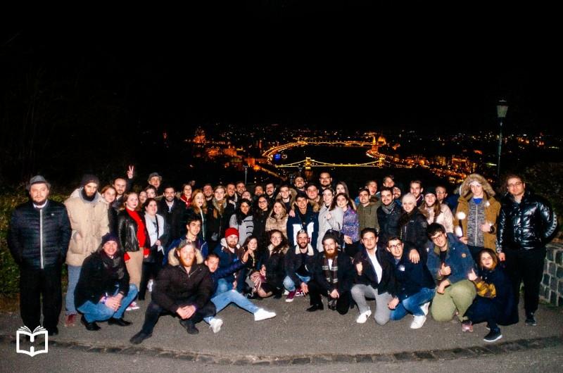 100 סטודנטים מרחבי אירופה נפגשו לשבתון בבודפשט