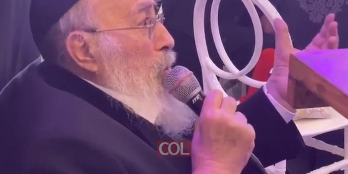 הרב שמעון אליטוב בסעודת פורים והתוועדות יום הולדתו הפ