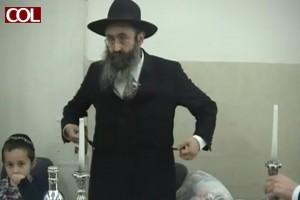 שעה של צפייה: הרב גלוכובסקי עורך מול המצלמות 'ליל סדר'