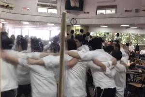 הוסרו המחיצות, וכעת הם רוקדים: איחוד 'קפסולות' בלוד
