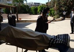 הלווייתו של המחנך ר' אלחנן יעקובוביץ' ז