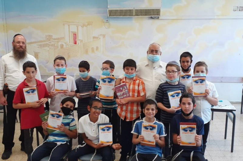 בטקסים צנועים בכיתות: תלמידי הת