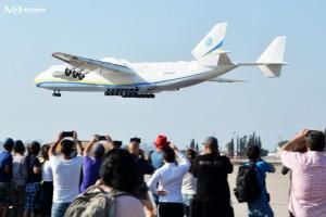 המטוס הארוך והכבד בעולם נחת בנתב