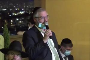 חתונת כהן-הבר: צפו בנאומו של אבי הכלה שריגש את הנוכחים