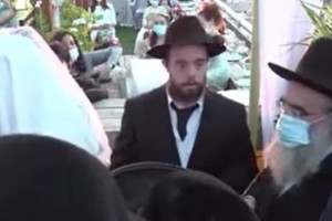 השמחה שלא הותירה עין יבשה: חתונת הת' זלמן כהן מנחלה
