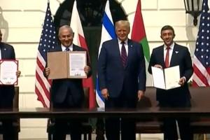 בשידור חוזר: נחתם הסכם שלום היסטורי בין ישראל והאמירויות