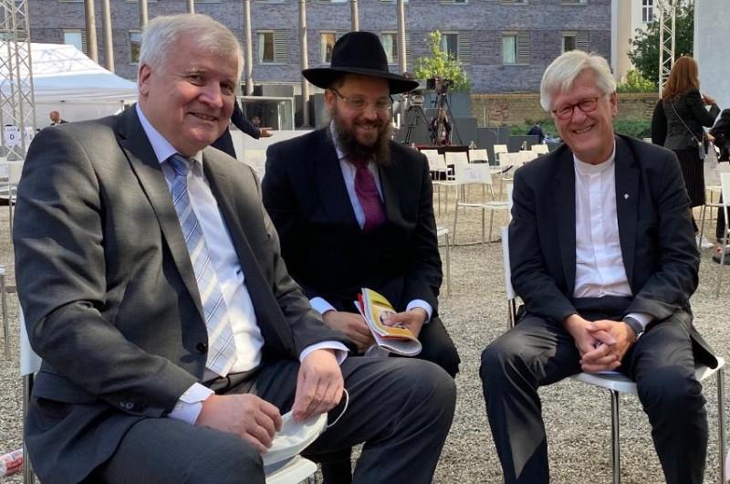 בשם הממשל: שר הפנים הגרמני איחל 'שנה טובה' לעם היהודי