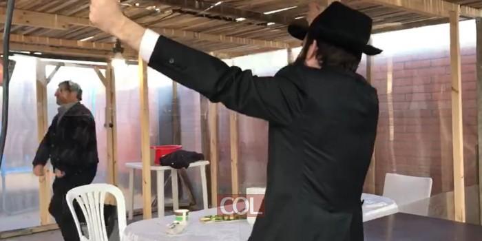 'ושמחת בחגיך': הרב ירחמיאל גורליק שליח חב