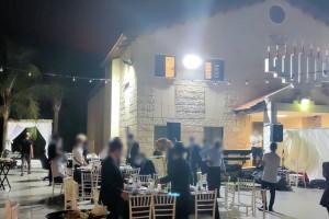 בעקבות תלונות: המשטרה פיזרה חתונות בכפר חב