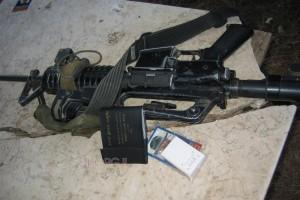 אזרח מנע חטיפת נשק מחייל: