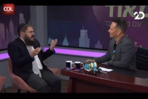 עשייה, משפחה ופרשת שבוע: הרב שניאור אשכנזי בערוץ 20