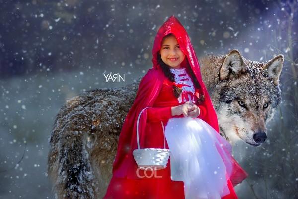 כיפה אדומה והזאב