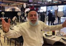 מה אומר המשגיח: הרב נחום רוקח, משגיח ראשי תחת השגחת הכשרות המהודרת של הרב יורקוביץ' נרגש גם הוא לרגל החתונה החב