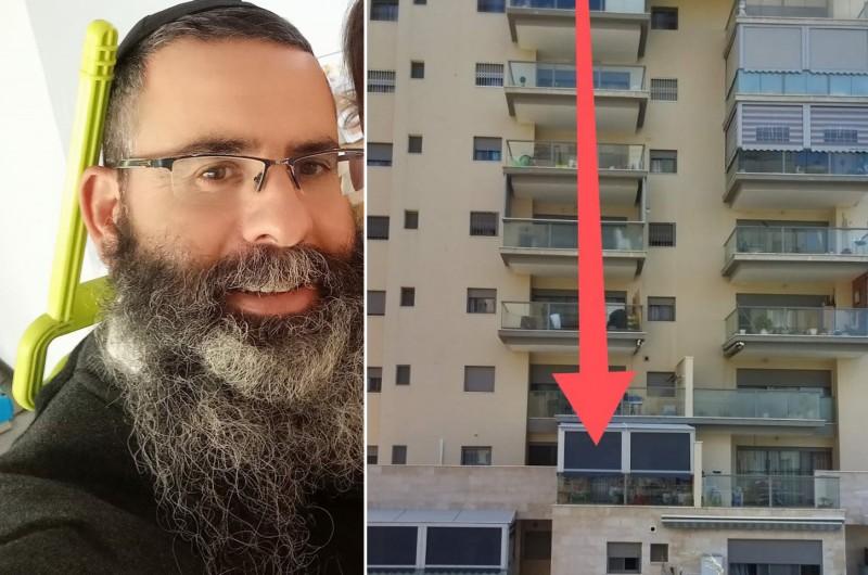 הילד נפל מקומה 8; השכן החב