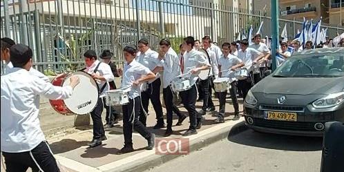 ההכנות לתהלוכה המרכזית בבאר שבע עיר האבות המאורגנת ע