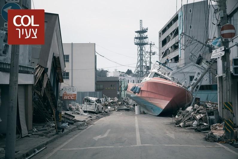 עשור לאסון שטלטל את העולם: כשגלי הצונאמי היכו ביפן