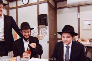 סמוך לציון הק': בנו של הרב וולף ע