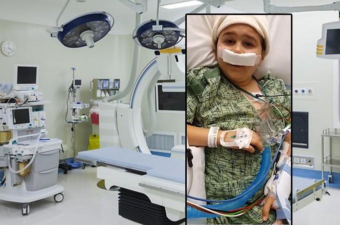 הסתיים הניתוח של הילד יהודה הרצל;
