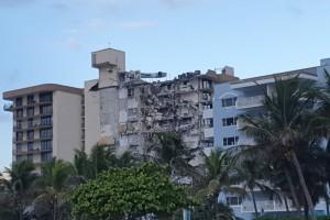הקריסה במיאמי: 70 נעדרים, בהם חסידי חב