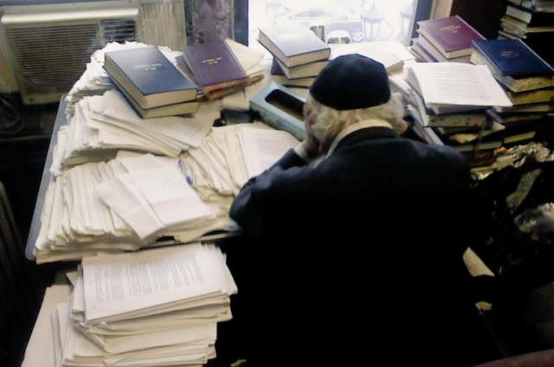 עיון בהררי מסמכים: רגעים מעבודת ה'חוזר'