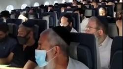 צפו: הקבוצה הגדולה שהמריאה בטיסה הפרטית מניו יורק לאלמא-אטא לרגל יום ההילולא של רבי לוי יצחק שניאורסון זצ