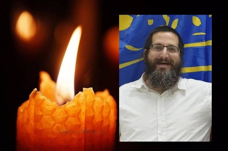 טרגדיה: ר' מרדכי חסין, בגיל 38, אב ל-5, נפטר מנגיף הקורונה