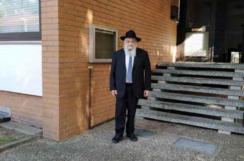 שליחת הרבי בהנובר הרבנית וולף במכתב אישי לרב ניימרק ורעייתו