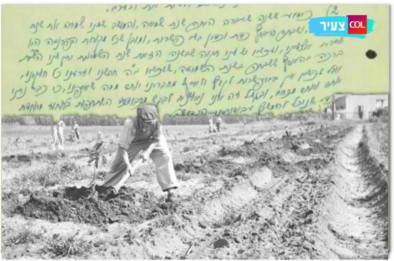 המכתב חושף: איך השפיעה השמיטה הראשונה על הכפר?
