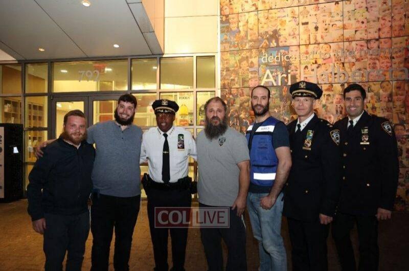 לאחר הירי: קצין המשטרה הבכיר הגיע לסיור בקראון הייטס